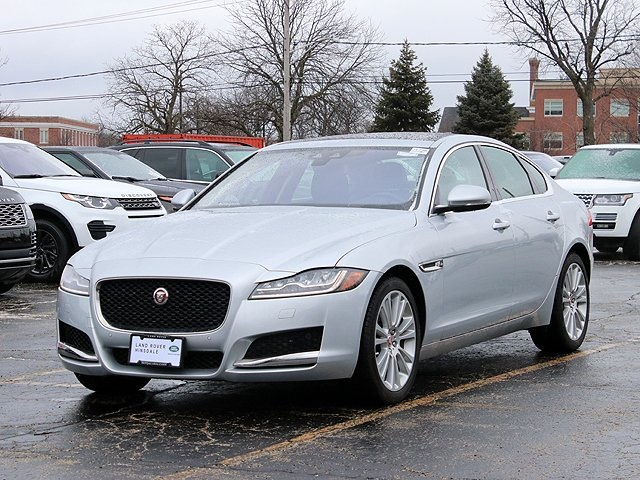 certified pre-owned 2018 jaguar xf prestige 4d sedan in hinsdale