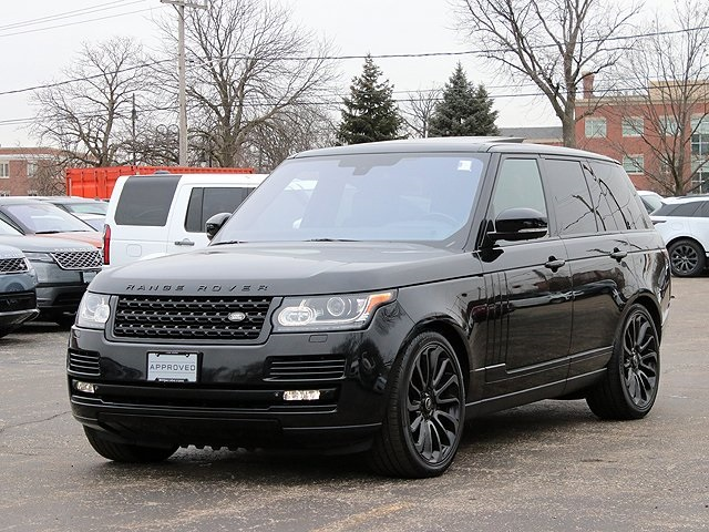 Certified Pre-Owned 2014 Land Rover Range Rover 5.0L V8 Supercharged