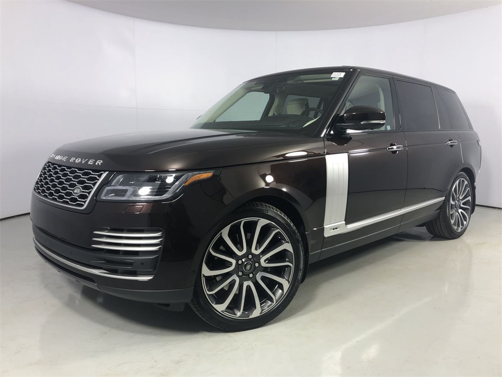 Certified Pre-Owned 2019 Land Rover Range Rover 5.0L V8 Supercharged Autobiography
