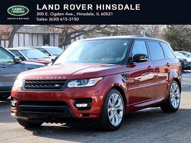 Certified Pre-Owned 2014 Land Rover Range Rover Sport 5.0L V8 Supercharged Autobiography