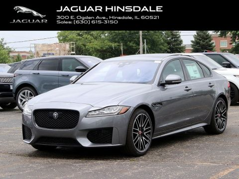 New 2020 Jaguar XF 30t Checkered Flag